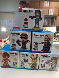 Super hero mini series