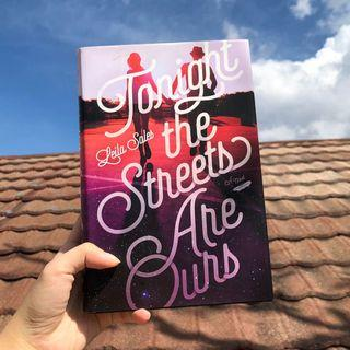 TONIGHT THE STREETS ARE OURS BY LEILA SALES (Hardcover/Preloved/Original)