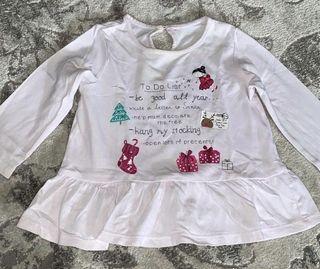 Top shirt baby girl UK brand