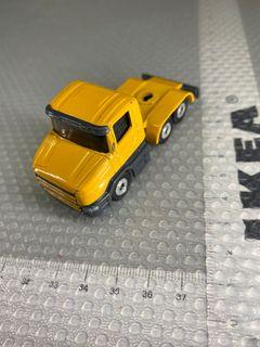 Yellow truck (trailer not sure if fits- sold separately)