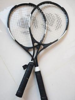 2 pieces Artengo Decathlon basic tennis racket beginners