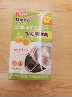 全新【小獅王辛巴】水垢清潔劑(30gx6包/盒) 售90不含運 期限2025.08