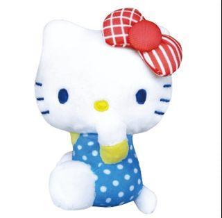 [全新現貨]環島之星5吋Hello kitty絨毛娃娃吊飾