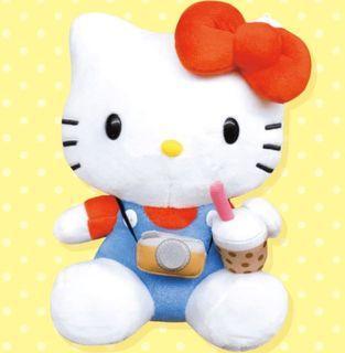 [全新現貨]環島之星8吋Hello kitty8吋絨毛玩偶