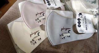 日本插畫貓咪🐈全新🔥抗菌水洗口罩!美型剪裁 (預購中....)實際帶過,回頭率很高 貓控必需品~