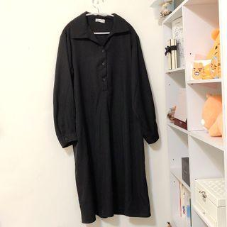 韓版雪紡氣質連身長裙 連衣裙 洋裝