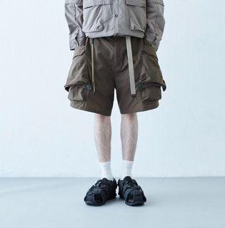 原價全新未拆 GooPi MR-O1 3D-Rotate Utility Shorts Olive 橄欖色 孤僻 軍褲