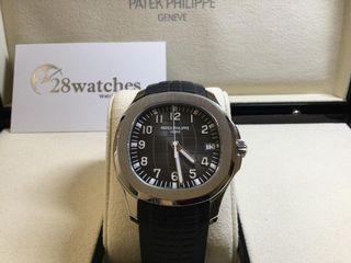 全新 Patek Philippe Aquanaut 5167A-001 齊膠紙,未剪帶 - 28watches
