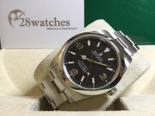 二手 Rolex Explorer 214270 停產  - 28watches