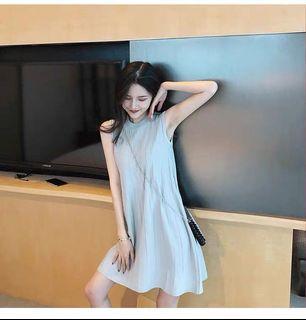 輕熟風輕奢女裝氣質 洋裝  A字短裙