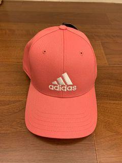 Adidas粉紅鴨舌帽