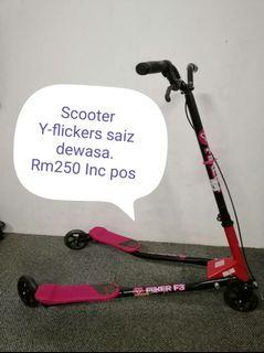 Aneka pilihan scooter dan harga