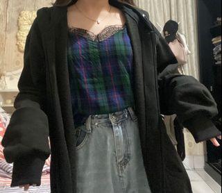 Black Oversized Carla Hoodie