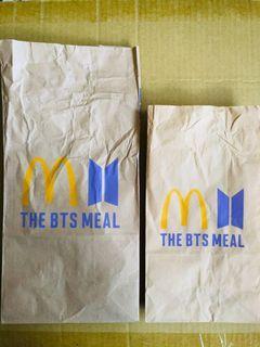 BYS 麥當勞聯名紙袋