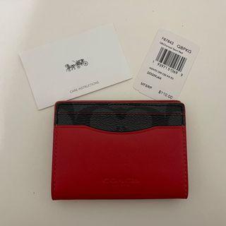 Coach男用卡夾(全新未使用)美國購入的