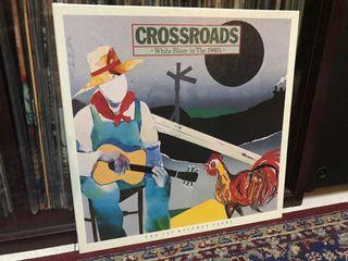 Box Set 3 LP Crossroads - White blues in the 1960s  LP Vinyl Piring Hitam