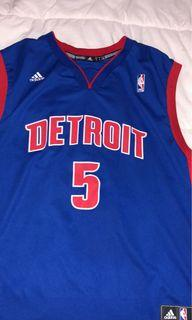 Detroit pistons cadwell pope jersey