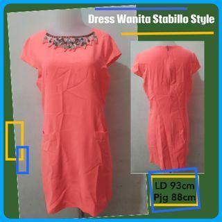 Dress Midi Elegant Stabillo Style