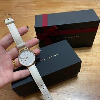 DW情人節白色手錶 正品‼️