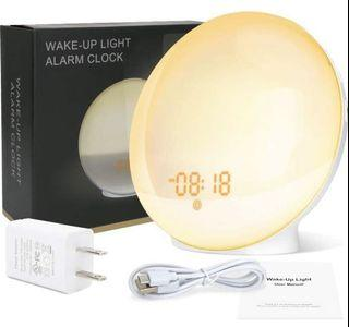 GRDE Smart Wake Up Light Alarm Clock