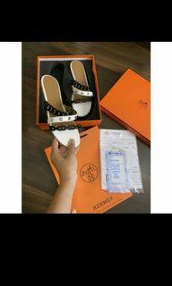 Hm sandal flat motif