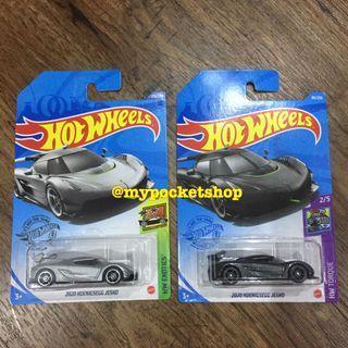 Hot Wheels 2020 KOENIGSEGG JESKO - Set of 2 cars / Hotwheels Exotics & Torque