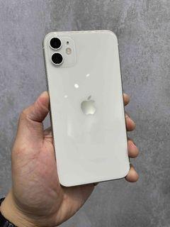 iPhone11 128G 白色 漂亮無傷 FaceID壞 只要12800 !!!