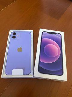 iphone 12 /128G 紫色 開封未開保