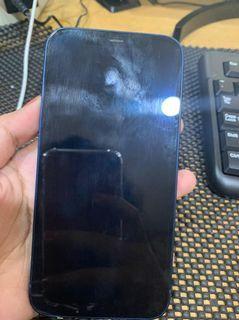 iphone 12 64gb biru second original
