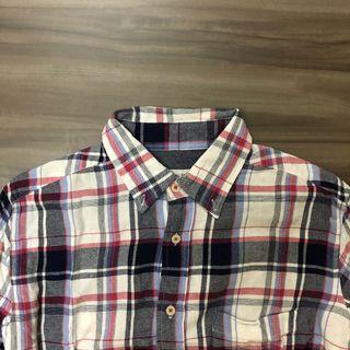 kemeja flannel second CLOSE TRUCK size M