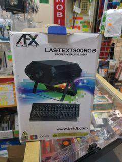 AFX Light Laser Text 300 RGB
