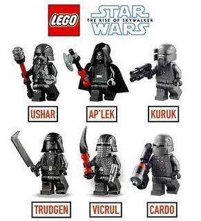 Lego Star Wars Knight of Rens [Vicrul, Kuruk, Trudgen, Cardo, Ushar, Ap'lek]