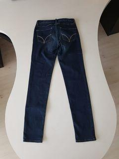New Giordano Jeans Mid Rise Tapered (Levis Uniqlo Diesel Espirit Low Boot Flare Straight Bellbottom)