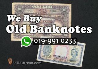 Penang Old Banknotes Buyer