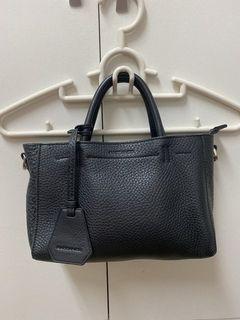 【RABEANCO】迷時尚系列優雅兩用小手提包(小) - 黑