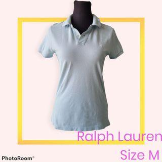 Ralph Lauren Skinny Polo Shirt  Sz M