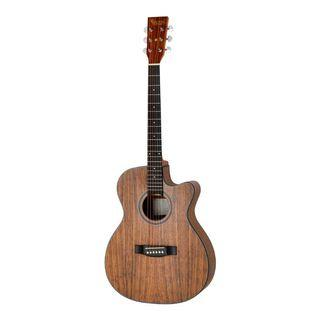 Revival Guitars G10C 40 inch Walnut Body Grand Auditorium with Cutaway Acoustic Guitar