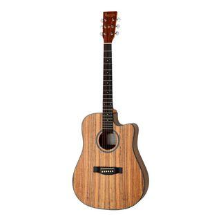 Revival Guitars D10C 41 inch Walnut Body Dreadnought with Cutaway Acoustic Guitar