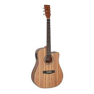 Revival Guitars D10C-E 41 inch Walnut Body Dreadnought with Cutaway Electro Acoustic Guitar (Fishman Preamp)
