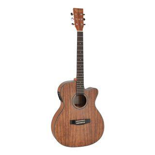 Revival Guitars G10C-E 40 inch Walnut Body Grand Auditorium with Cutaway Electro Acoustic Guitar (Fishman Preamp)