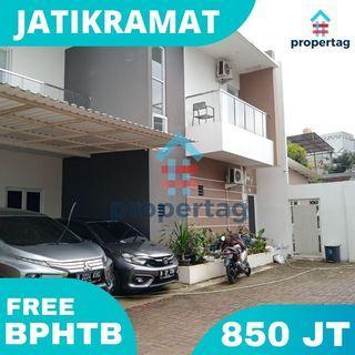 Rumah Bebas Banjir Free BPHTB Jatikramat