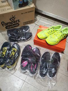 RUSH! 5 pcs ALL ORIGINAL Running Shoes Nike Adidas Asics