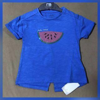 SALE❗️Authentic Mothercare blue watermelon shirt