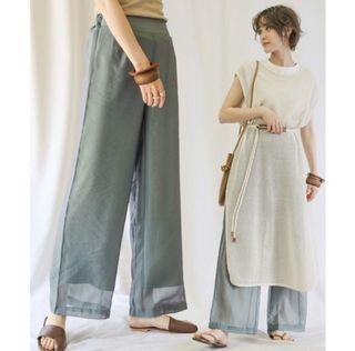 日牌select moca 透膚褲三件組(長內搭、短內搭、外褲)
