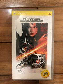 sony PlayStation Portable psp 遊戲片 真三國無雙