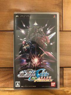 sony PlayStation Portable psp 遊戲片 鋼彈 機動戰士SEED