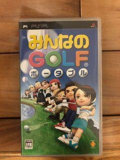 sony PlayStation Portable psp 遊戲片 全民高爾夫