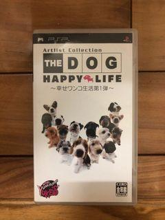 sony PlayStation Portable psp 遊戲片 THE DOG HAPPY LIFE