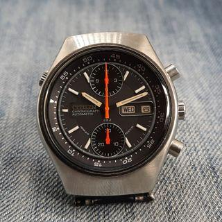 """Vintage Citizen 67-9119 """"Flyback Spider"""" Chronograph Automatic Men's Watch"""