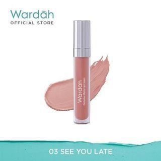 Wardah Exclusive Matte Lip Cream 03 See You Latte